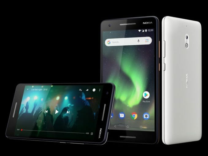 Das Nokia 2.1 von HDM Global. (c) HDM Global