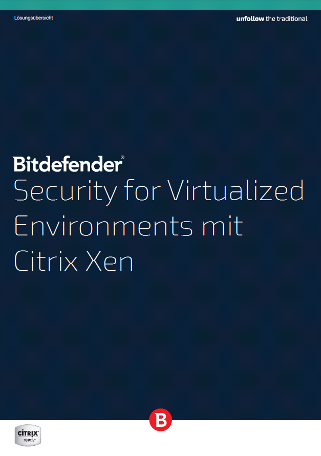 Security for Virtualized Environments mit Citrix Xen (c) BitDefender GmbH