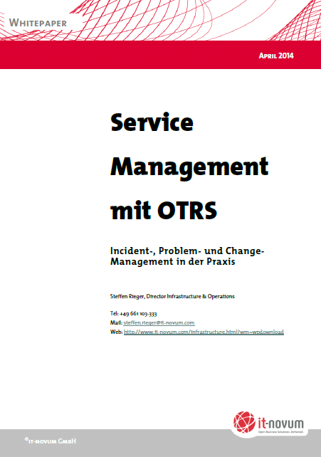 Service Management mit OTRS (c) it-novum Deutschland