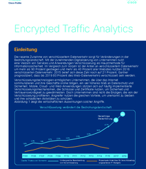Bedrohungen erkennen: Encrypted Traffic Analytics (c) CISCO Systems GmbH