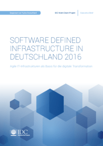 Software Defined Infrastructure in der Praxis (c) Fujitsu Technology Solutions GmbH