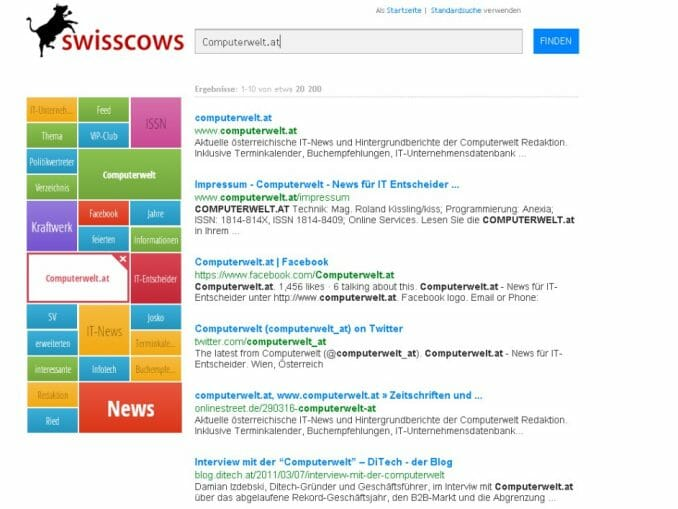 swisscows.at: Sichere